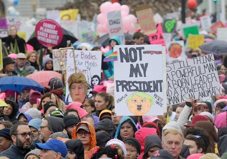 Description: Women marches